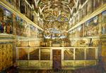 Roma – Vaticano – Interno Capella Sistina