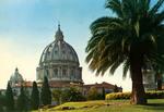 Roma – Cupola Di S. Pietro dai Giardini Vaticani