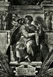 Città del Vaticano Cappella Sistina - Profeta Isaia - (Michelangelo)