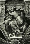 Città del Vaticano Cappella Sistina - Sibilla Libica (Michelangelo)