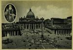 Città del Vaticano Piazza S. Pietro e la Basilica.