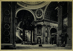 Città del Vaticano Interno S. Pietro - Altare della Confessione.
