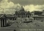 Città del Vaticano - Piazza S. Pietro - La Basilica