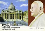 Roma Concilio Ecumenico Vaticano II A.D.