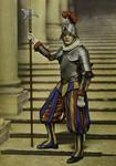 Città del Vaticano -Guardia Svizzera in grande uniforme