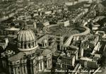 Roma - Basilica e Piazza S. Pietro dall' aereo