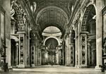 Roma - Basilica di S Pietro (Interno)